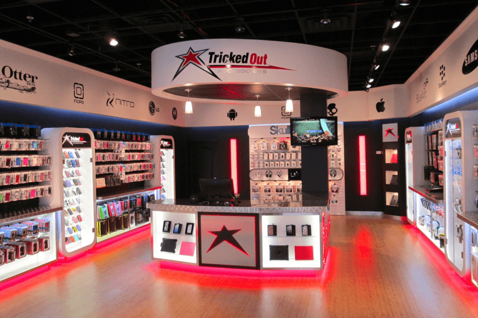 Tricked Out Accessories store with phone accessories